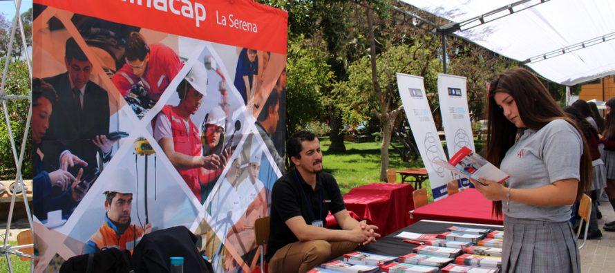 Positiva evaluación sobre la I Feria de Orientación Vocacional en Vicuña