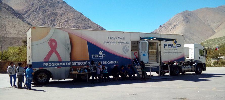 Fundación Arturo López Pérez realiza 198 mamografías en Montegrande