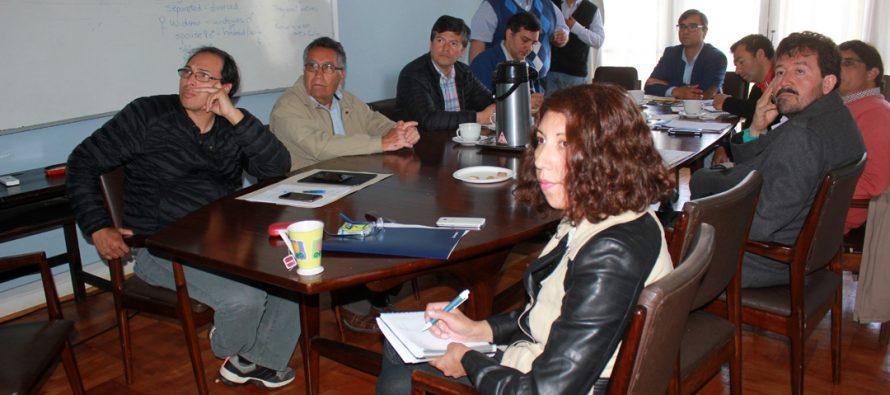 Junta de Vigilancia del Rio Elqui presenta necesidades de sus usuarios a la Comisión Regional de Riego