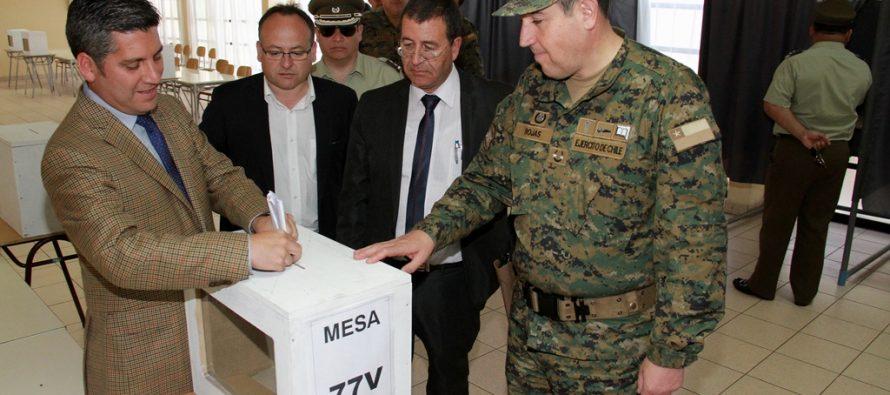 """Intendente Claudio Ibáñez: """"Hemos dispuesto todas las facilidades para votar"""""""