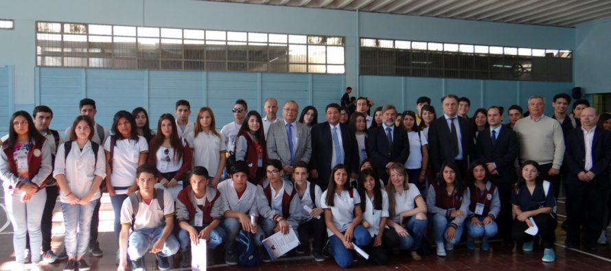 Colegio Técnico Profesional de La Serena intercambia experiencias con Escuela de San Juan Argentina