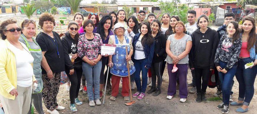 Estudiantes del IP Santo Tomás hermosearon Población Juan XXIII de La Antena