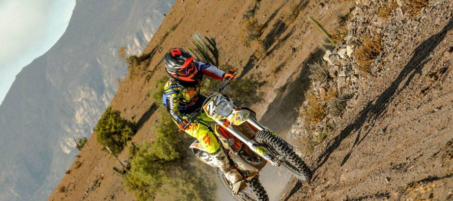 Arturo Jopia terminó este 2016 campeón del Zonal Norte y vicecampeón nacional de motos enduro