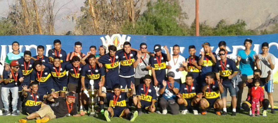 CD Alameda se convirtió en el campeón del Torneo de Clausura de ANFA de Vicuña