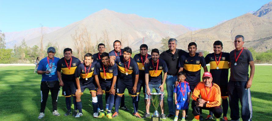 Club Deportivo Alameda se quedó con la corona del Campeonato Senior 35 años del ANFA