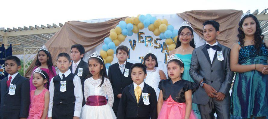 Escuela Cielo Claro de Paihuano festejó un nuevo aniversario