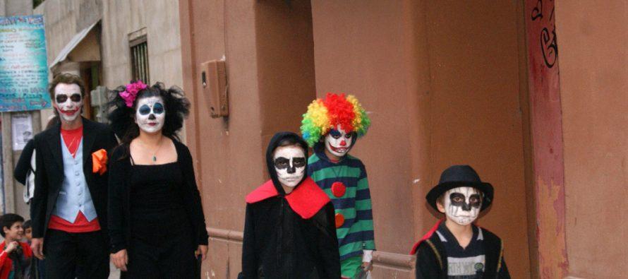 Fiesta de Halloween fue celebrada con entusiasmo en Paihuano