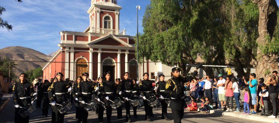 Vicuña fue el epicentro del IX Encuentro Interregional de Bandas Escolares de Guerra