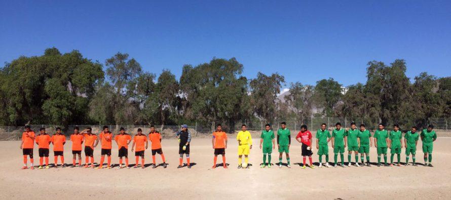 En la localidad de El Tambo se desarrolla Campeonato de Fútbol Rural de Primavera