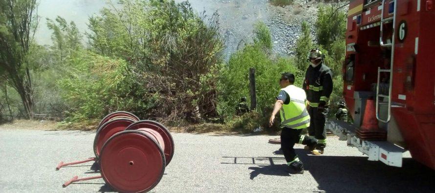 Gobernación de Elqui y PDI lanzaron campaña para evitar incendios forestales en la zona