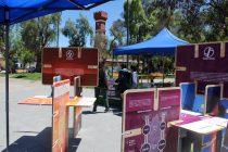 Muestra sobre energía y sustentabilidad ULS visita Vicuña