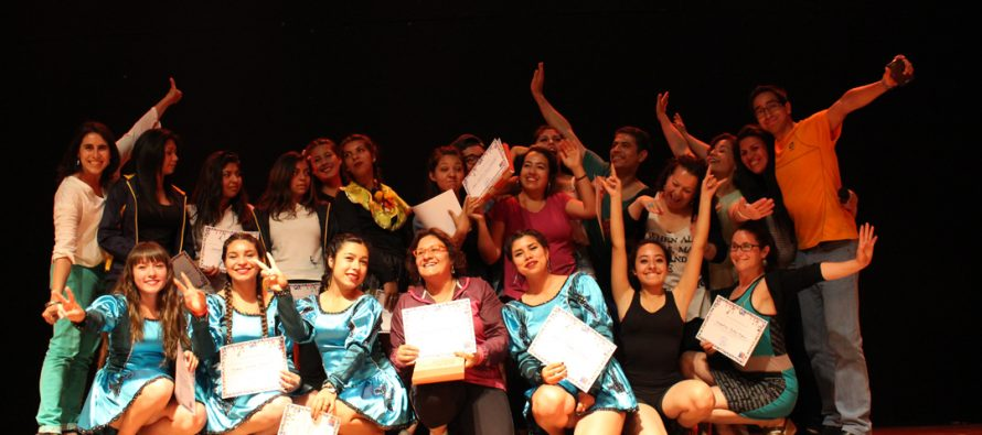 CNCA incentiva la danza entre jóvenes de la comuna de Vicuña