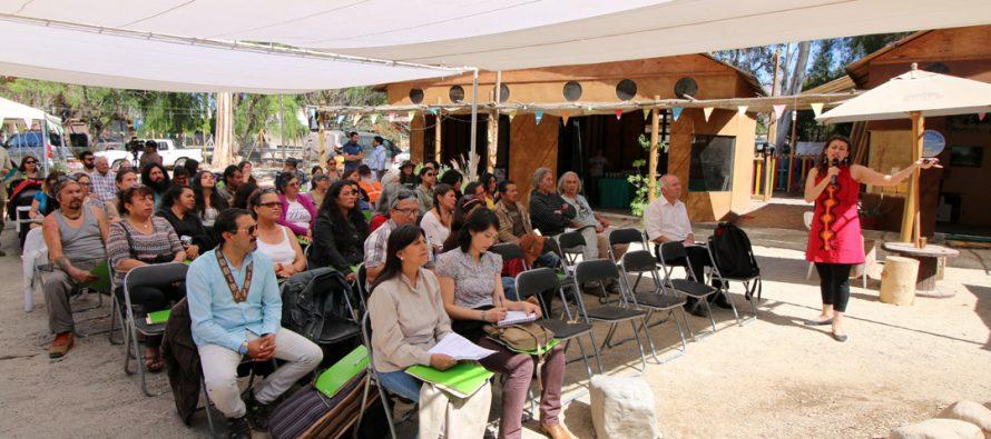 Mesa Sectorial de Artesanía tuvo su cita regional en la Aldea Elquina de Vicuña
