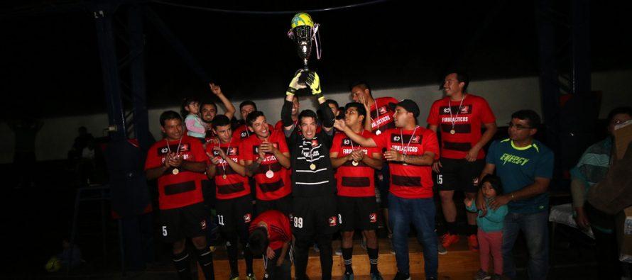 """""""Los Firulácticos"""" se convirtieron en el Bicampeón de la Liga Comunal de Baby Fútbol de Vicuña"""