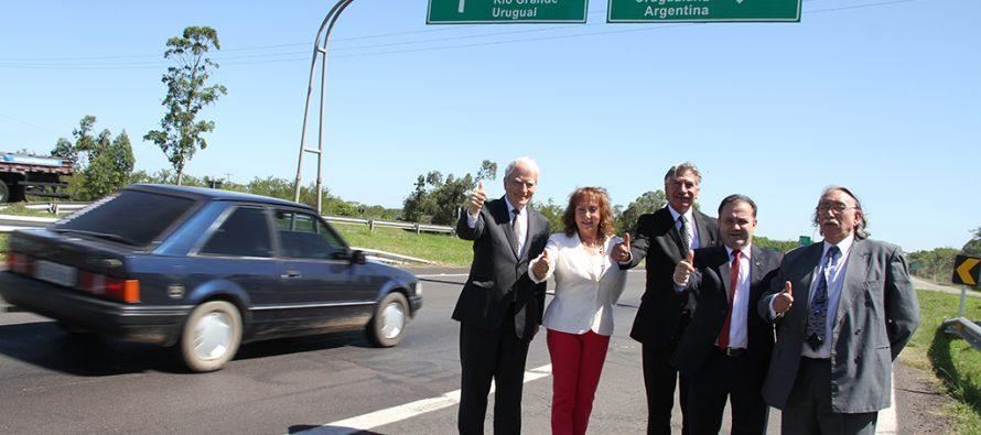 CORE toma ventaja y concreta trabajo con Porto Alegre en Brasil para potenciar Corredor Bioceánico Central