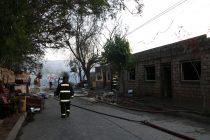Municipio gestiona ayudas a familias damnificadas por incendio de Vicuña