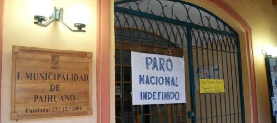 Paro nacional se sigue desarrollando en Paihuano