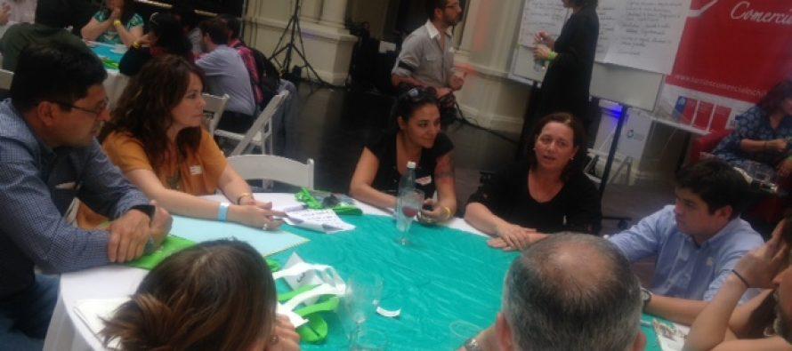 Vicuña presentó su experiencia en el III Encuentro de Barrios Comerciales en Santiago