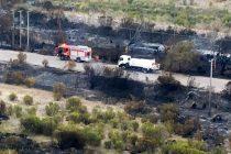 Incendio Forestal en cercanías de Puclaro podría deberse a un tema eléctrico