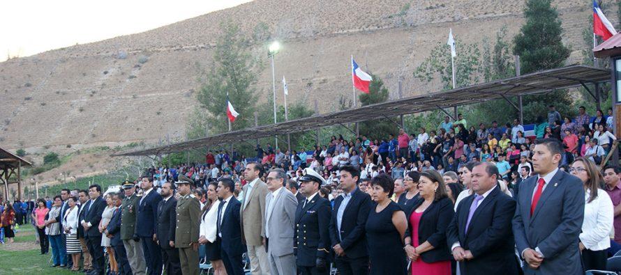Paihuano celebrará su 128 aniversario sin fiestas ni pirotecnia