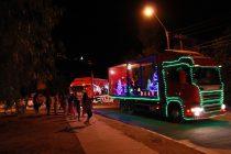 Caravana navideña Capel