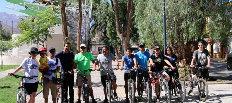 """""""Vicuña en Bicicleta"""" continúa con las actividades para potenciar el turismo comunal"""