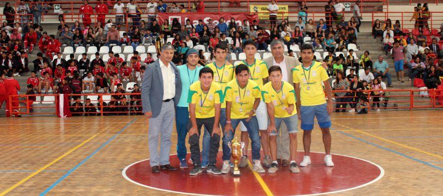 Municipal de Vicuña obtiene 2do lugar en categoría juvenil en torneo de fútbol  ACEFA