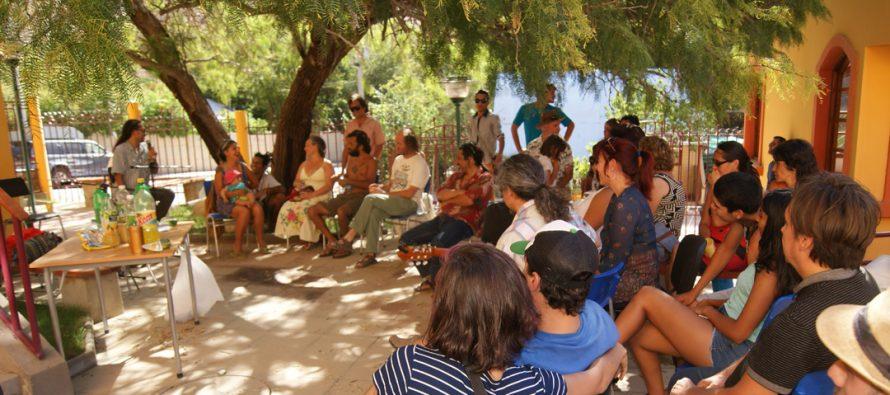Con un Malón Cultural reabrieron Centro Cultural de Paihuano