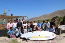 Buscan generar un desarrollo turístico del embalse Puclaro a través de la práctica de los deportes