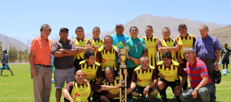 CD San Isidro y CD Alameda fueron los campeones de la Liga Laboral Senior de Vicuña