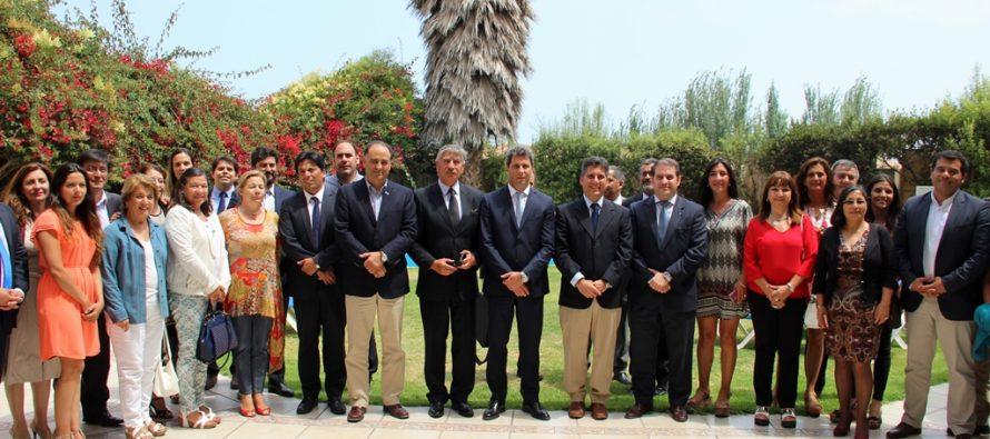 Córdoba se suma al trabajo de integración comercial y social con la Región de Coquimbo