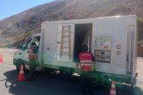 Paso Agua Negra recibe apoyo de camión escáner de Aduanas