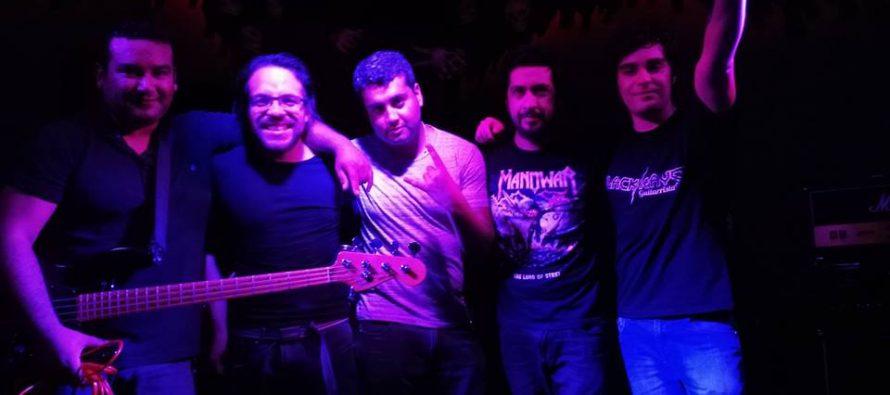 """Banda BlackRays de Vicuña presenta su debut discográfico """"Vida en las Sombras"""""""
