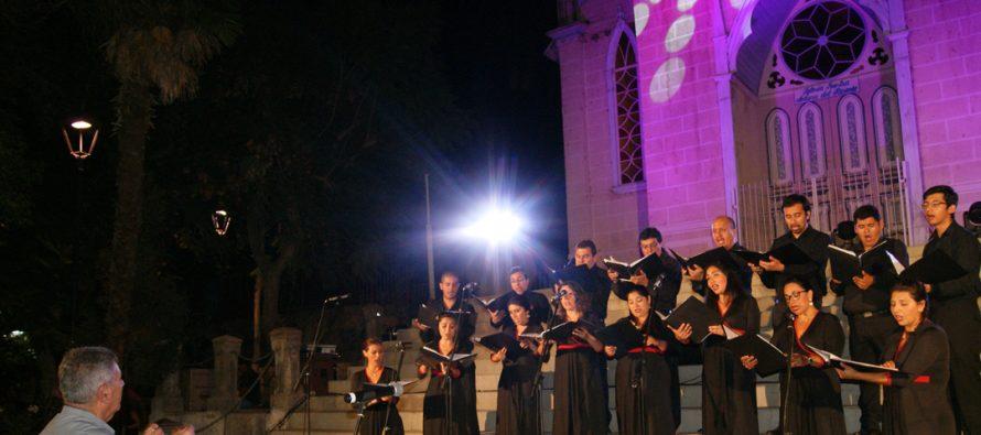 Coro de Cámara de La Serena cerró sus presentaciones regionales de Violeta Parra en Pisco Elqui