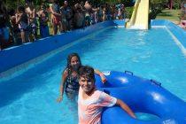 Niños de Paihuano disfrutaron de actividades recreativas en La Serena
