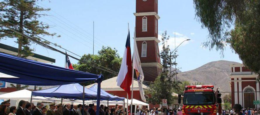 Este miércoles 22 de febrero Vicuña celebra 196 años con acto, desfile y reconocimientos