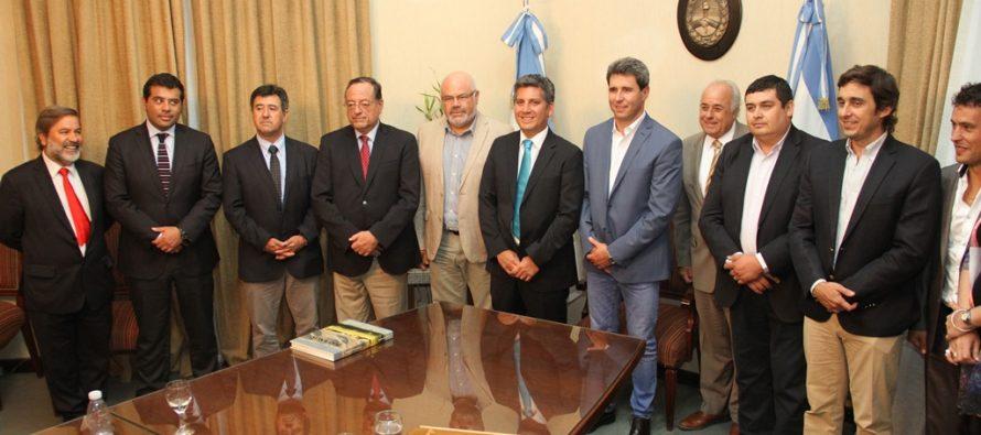 Intendente Ibáñez y gremios empresariales realizan positivo  balance de la agenda de integración en San Juan