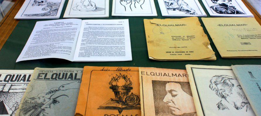 Exposición Elqui Literario saluda a Vicuña en su aniversario