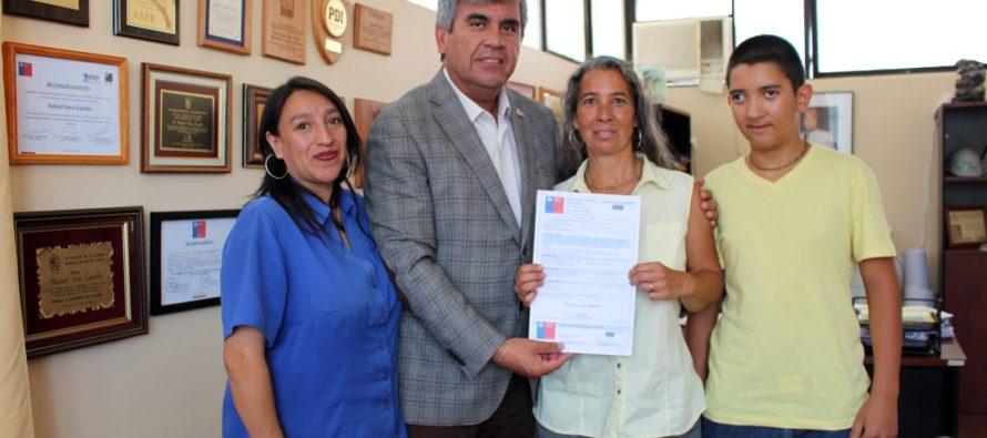 Vecina de Diaguitas afectada por el terremoto de 2015 recibió subsidio para su vivienda definitiva