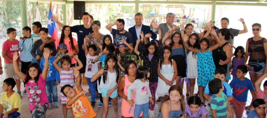 Con éxito cerraron las escuelas de verano 2017 en la comuna de Vicuña