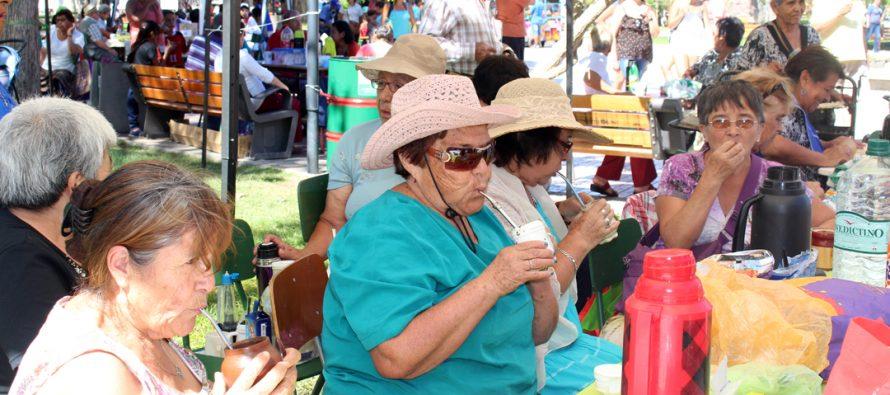 Mateada Mistraliana reunió a una gran cantidad de adultos mayores y turistas en su 4ta versión