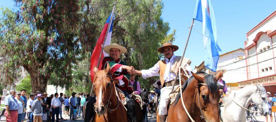 La Difunta Correa vuelve a ser partícipe de tradicional cabalgata de huasos y gauchos