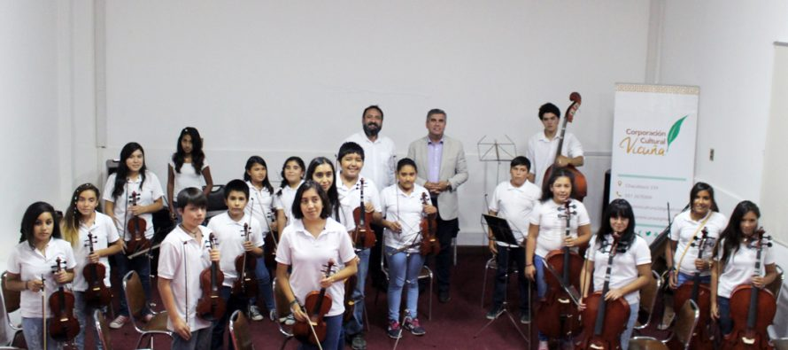 Orquesta Gabriela Mistral cerró sus presentaciones estivales con concierto en Vicuña