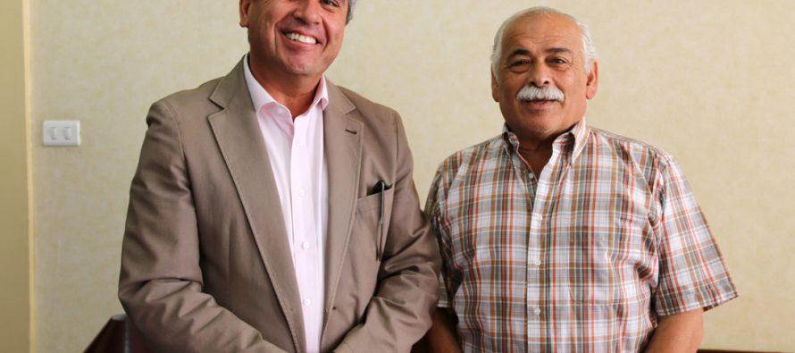 Alcaldes de La Serena y Vicuña fijan plan de acción en conjunto para su segundo mandato