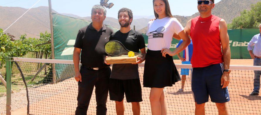 Pablo Espejo de Coquimbo fue el campeón de la Copa de Tenis Canihuante 2017