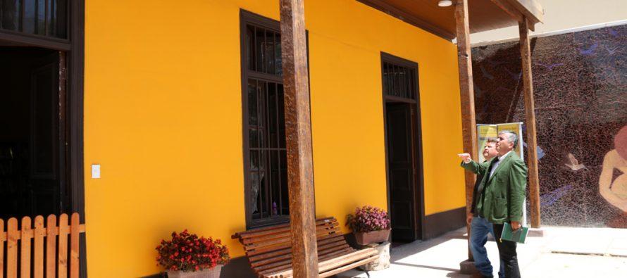 Restauración Histórica: En pocas semanas finalizan las obras que embellecerán la vida cultural de Vicuña