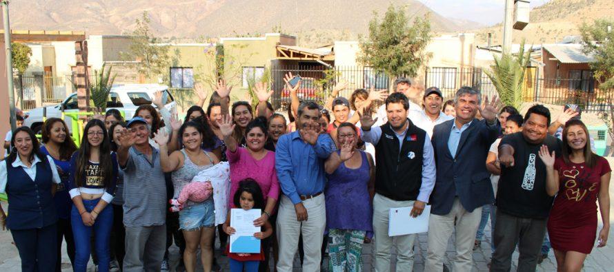 Decenas de familias son beneficiadas con el programa Habitabilidad Rural en la comuna de Vicuña