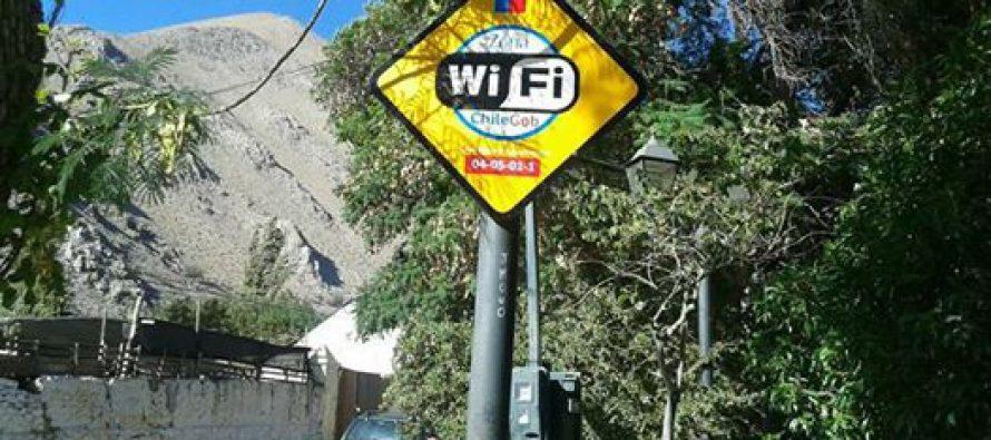 Plaza de Paihuano cuenta con Wi-Fi gratuito para la comunidad y los turistas