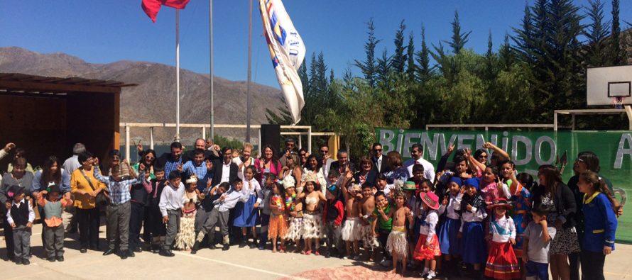 Comuna de Vicuña dio inicio al año escolar 2017 en la localidad de Gualliguaica