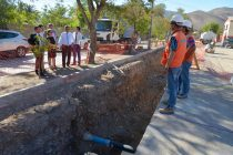 Programan intervención de una de las vías principales de Vicuña por obras de colector